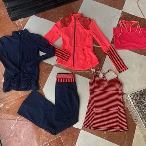 Lululemon and Lucy Workout Bundle - size 4 and XS
